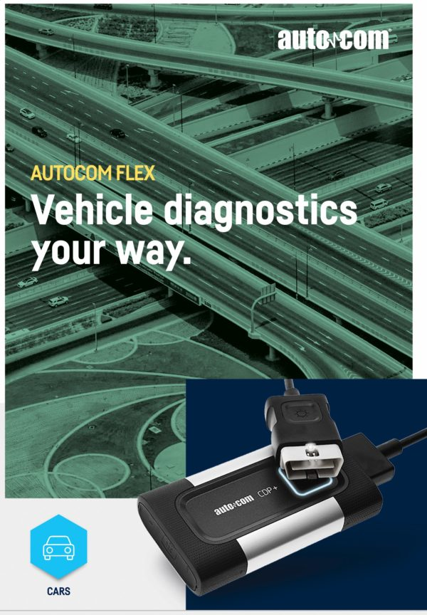 Kit Autocom Flex CDP+ CARS